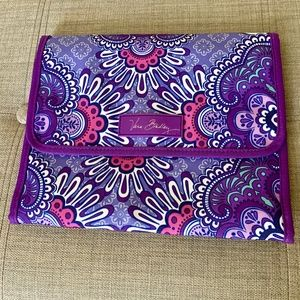 NWT Vera Bradley Stow & Go Travel Jewelry Folio